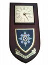 Black Watch Regimental Wall Plaque Clock